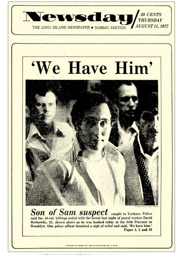 """Yonkers Parking Tickets >> 40 years later: """"Son of Sam"""" David Berkowitz captured ..."""