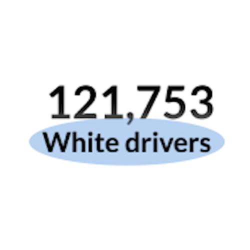white drivers