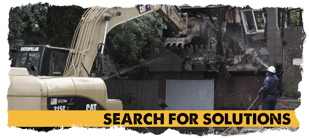 Search for solutions