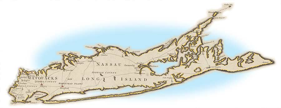 Huntington New York Map.Long Island In 1790 What America S First Census Reveals Nd Projects