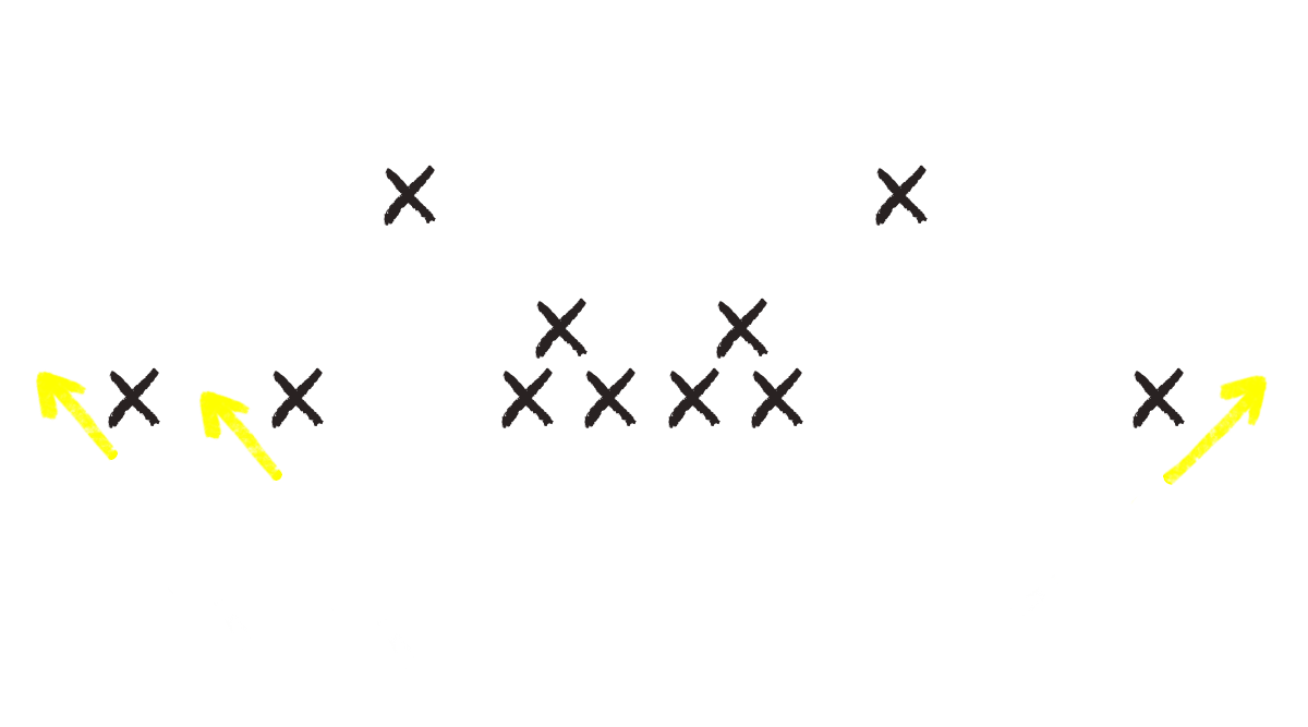 The basics of the football route tree