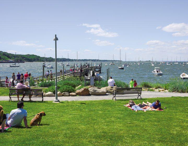 Port Jefferson: Vibrant Scene on the Harbor
