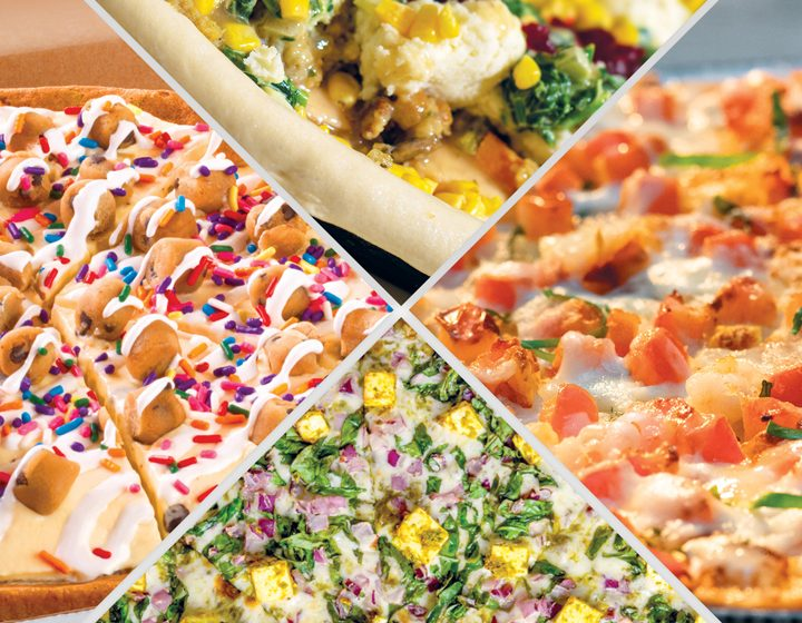 In a Pizza State of Mind